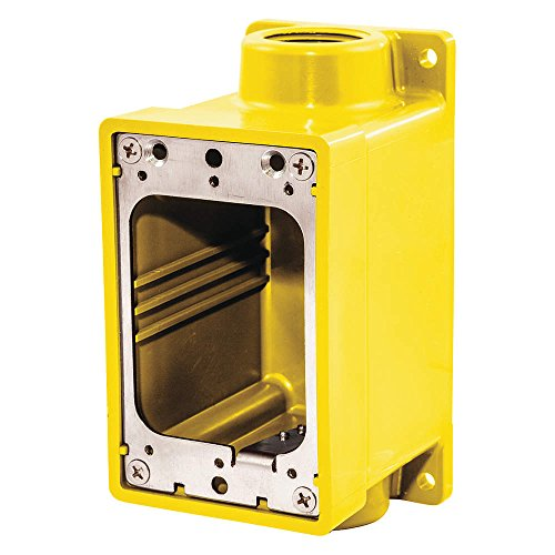 Weatherproof Electrical Box, 3/4