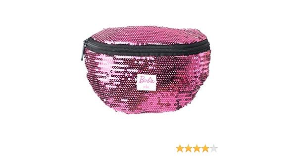 Spiral Barbie Disco Sequin Pink Bum Bag Riñonera de Marcha ...