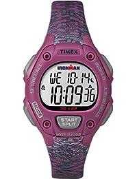 Timex Women's TW5M07600GP Ironman 30-Lap Mid Size Pink Dial Wrist Watch