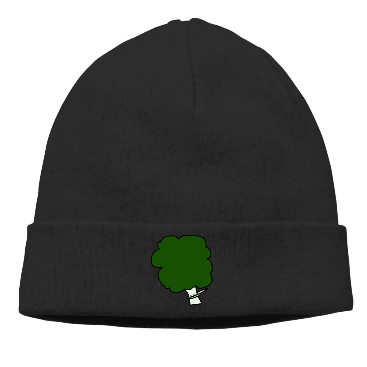 Stretchy /& Soft Winter Cap Thin Dabbing Broccoli Men Womens Solid Color Beanie Hat