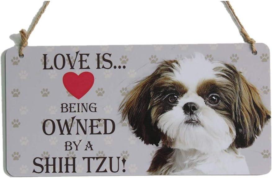 Shih Tzu Gift Sign