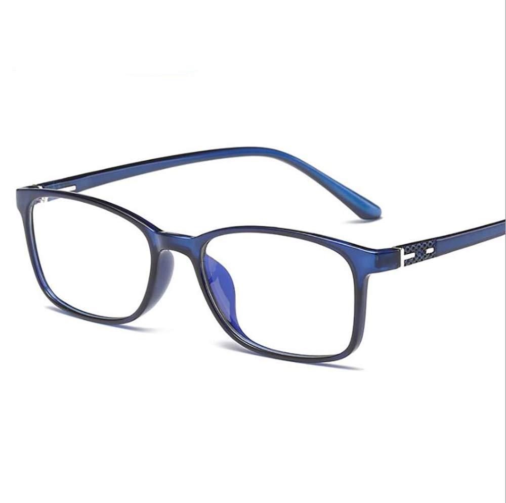 Gafas Transparentes para Juegos Gafas con Filtro de luz Azul para Bloquear el Dolor de Cabeza por Rayos Ultravioleta Hombres//Mujeres Unisex Lucha contra la Vista del Ojo
