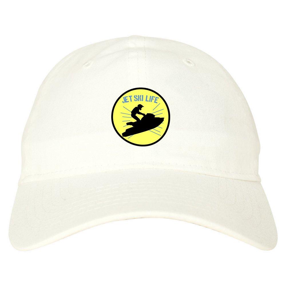 36fb3ea2b98f1 Kings Of NY Jetski Jet Ski Life Mens Dad Hat Baseball Cap Beige at Amazon  Men s Clothing store