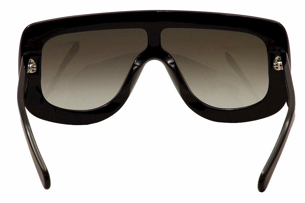 32e4a574a4 Amazon.com  Celine 41377 S 807 Black 41377S Visor Sunglasses Lens Category  2 Size 99mm  Clothing