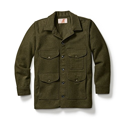 Mackinaw Cruiser Jacket (Filson Mackinaw Cruiser Jacket Forrest Green XXL)