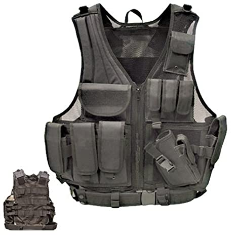Amazon.com   MetalTac Tactical Vest for Airsoft Paintball Outdoor ... 98b2c1adb9d