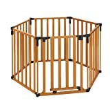 North States Superyard 3 in 1 Wood Gate by North States Industries