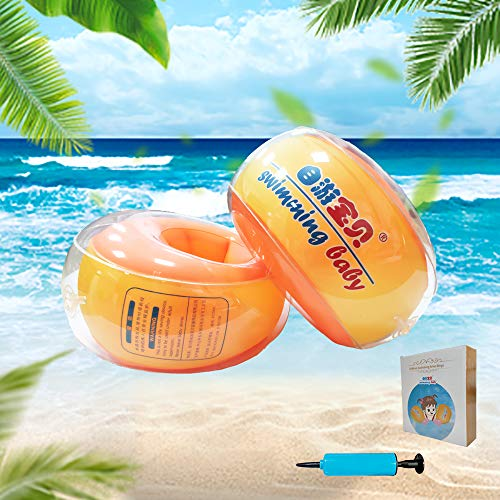 Baby Arm Floaties for Pool | Inflatable Swimming Arm Ring