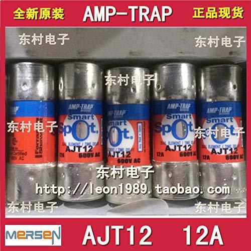 Davitu [SA]MERSEN SMARTSPOT Fuses AMP-TRAP fuse AJT12 12A AJT15 600V-3PCS/LOT