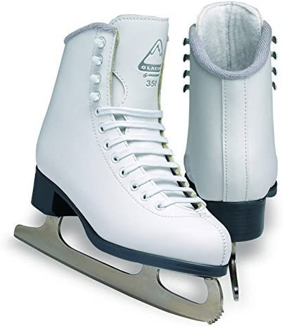 Jackson Ultima Glacier GS351 White Kids Ice Skates