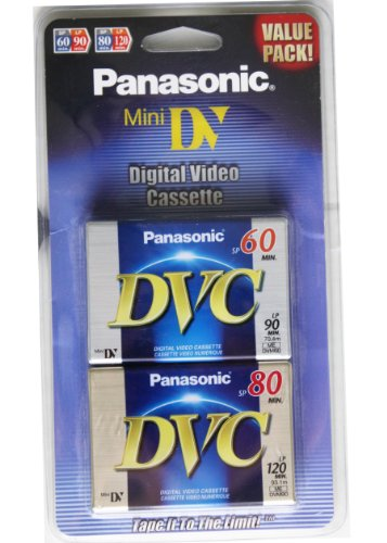 Panasonic Mini Digital Video Cassette - Value Pack!