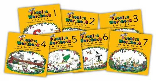 Jolly Phonics Workbooks 1 - 7