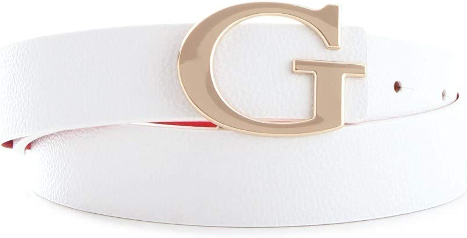Guess Analise Reversible Not Adjustable Belt W90 White/Red