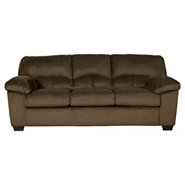 Signature Design by Ashley - Dailey Contemporary Sofa, Chocolate Brown