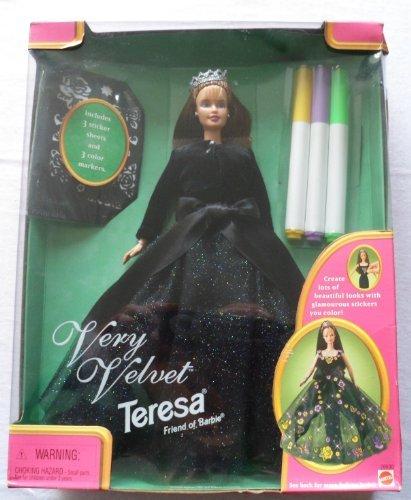 VERY VELVET TERESA, FRIEND OF BARBIE - 1998 by Mattel -