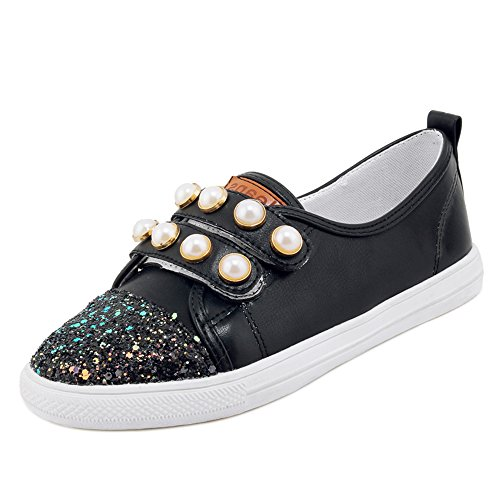 Skateboard Black Casual Femmes Chaussures TAOFFEN vwA0U0