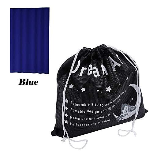 DREAM ART Anywhere Portable Blackout Curtain/Adjustable Blac