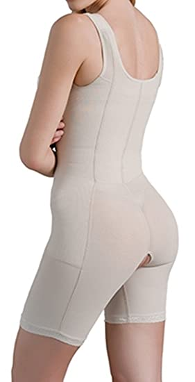 8ef68a4db6360 Braless Body Shaper Corset Reductor Shapes The Body Fajas Colombianas  Modeladora at Amazon Women s Clothing store