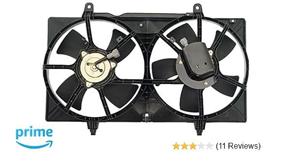 620419 Dual Radiator Cooling Fan w// Motor NEW 620-419