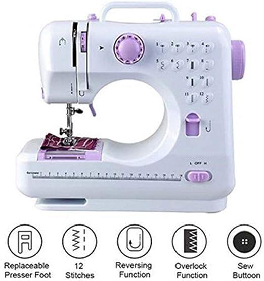 WYCcaseA Máquina de Coser Doméstica Dispositivo de Costura de ...
