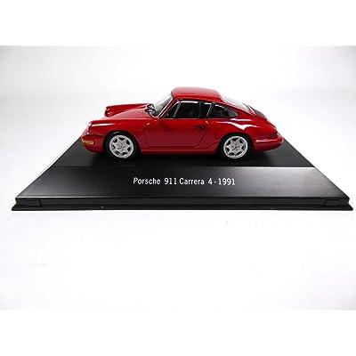 Atlas Porsche 911 Carrera 4 1991 red1 / 43 - Ref: 4003: Juguetes y juegos