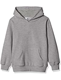 Kids' Solid Fleece Hooded Pullover Sweatshirt for Boys Or Girls