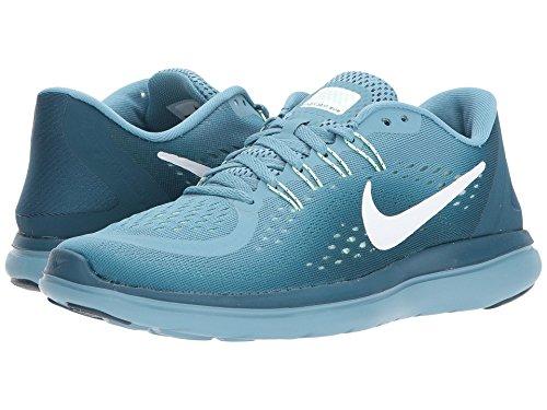 作り自分のためにテニス(ナイキ) NIKE レディースランニングシューズ?スニーカー?靴 Flex RN 2017 Cerulean/White/Space Blue/Mint Foam 9 (26cm) B - Medium