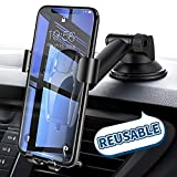Cell Phone Holder for Car, Ainope Universal Dashboard Cell Phone Holder Gravity Auto-Clamping Car Cradle Mount Adjustable Car Holder Compatible iPhone X/ 8/7/ 6s/ Plus, Samsung Note 9/ S9/ S8/ S7/ S6