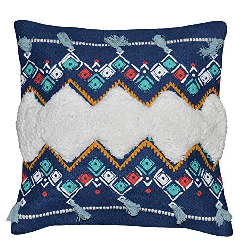 Better Homes & Gardens Tribal Tassels Decorative Throw Pillow, 17