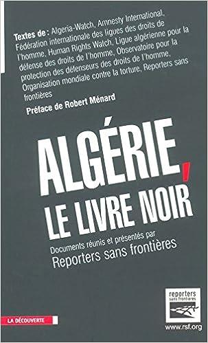 Livres Algérie : Le Livre noir pdf ebook