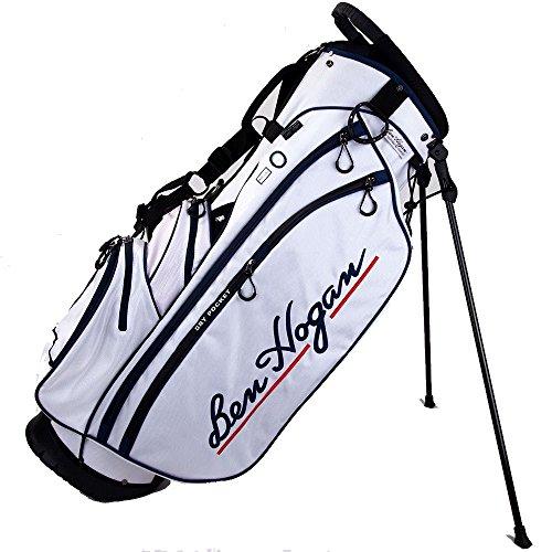 Ben Hogan Golf Unisex Ben Hogan BH1 Stand Bag (White), Si...