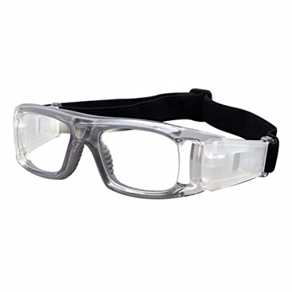explosions antibuée Football basket-ball Verres Lunettes Lunettes de sport Super Vision sans colonnes, transparent basket glue