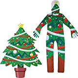 Bokning Christmas Costume Cosplay Pajamas, Snowman Costume Mascot Santa Claus Costume Kids with Mask for Kids/Toddler