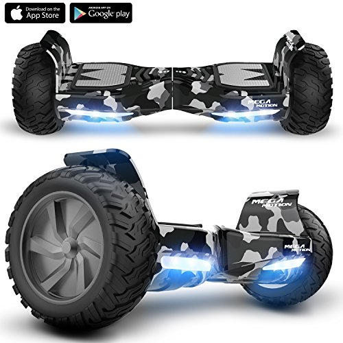 Mega Motion X-strong Hoverboard with 8.5 inch wheels