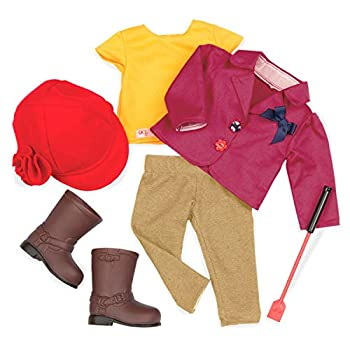 """Our Generation Dolls Ready To Ride Doll Deluxe Riding Outfit, 18"""" 3"""