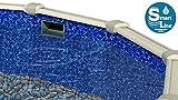 Smartline Bedrock 15-Foot-by-30-Foot Oval Liner