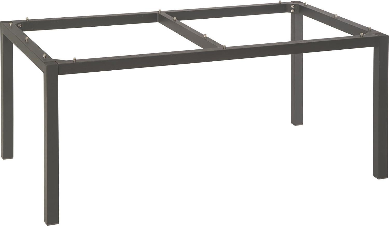 Stern Tischgestell 160x90cm Aluminium anthrazit