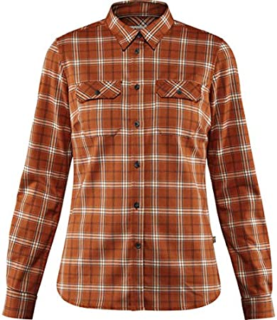 FJALLRAVEN Fjällglim Stretch Shirt LS W Camisa, Mujer, Autumn ...