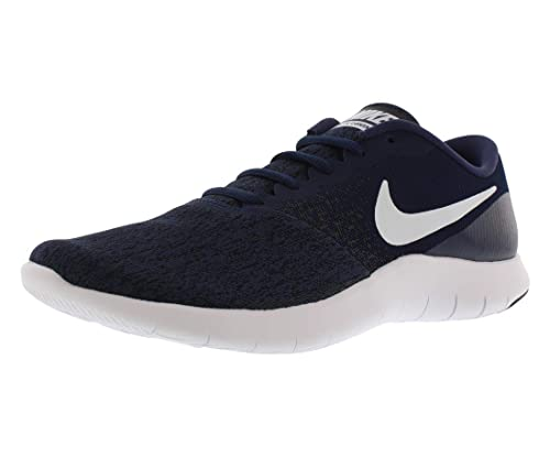 afb48c8efc9a6 Nike Men's Flex Contact Midnight/Navy/White/Black Running Shoe 11 Men US:  Amazon.co.uk: Shoes & Bags