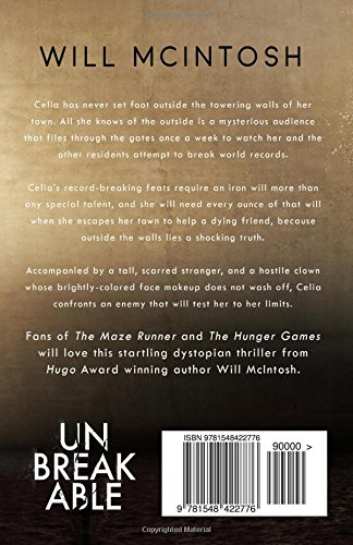 Amazon unbreakable 9781548422776 will mcintosh books fandeluxe Gallery