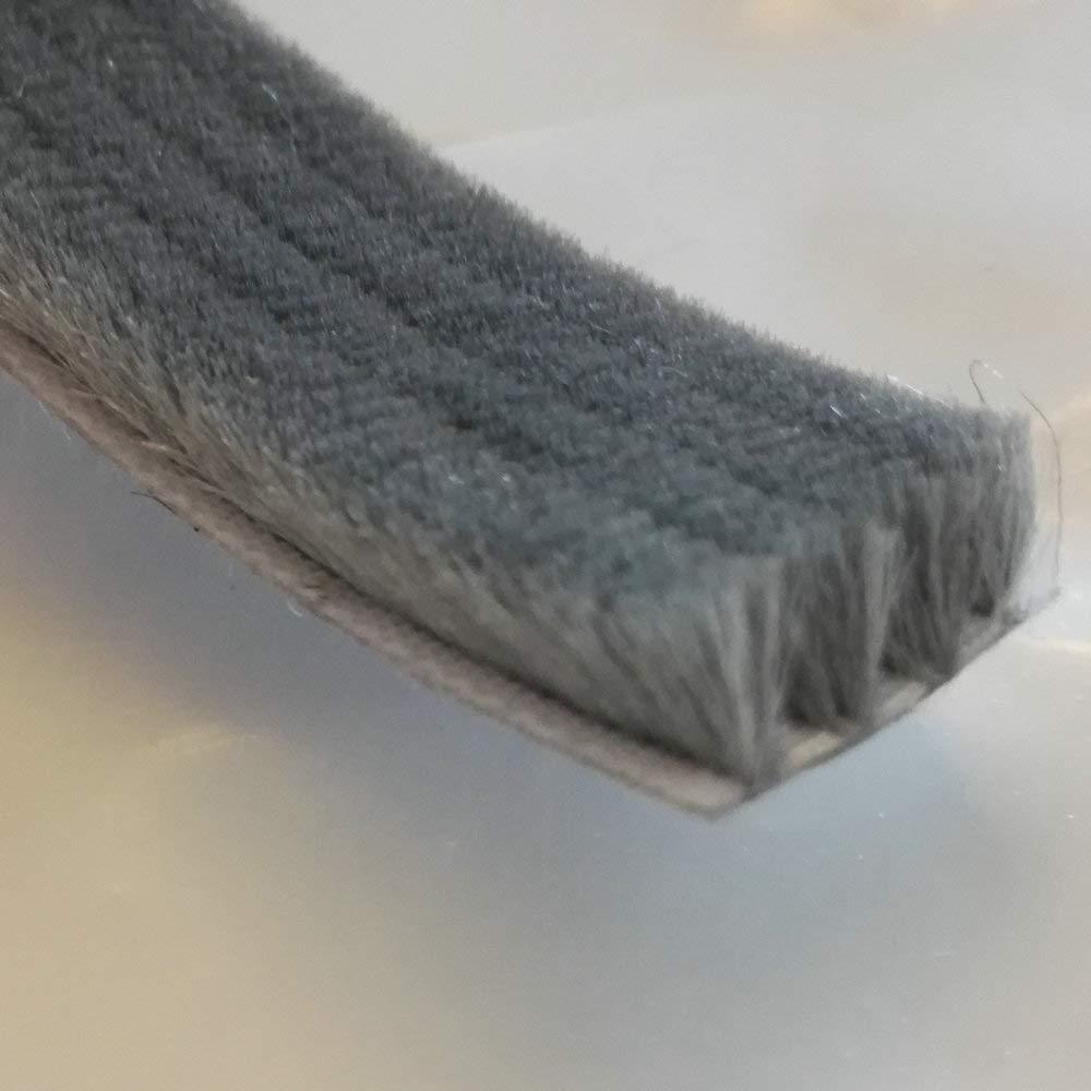 H-density adhé sif Brosse joints en feutre en laine de Boudin Joint coulissant Sash fenê tre joints de porte 10 MTS Gris Blanc Bordeaux 20x8mm gris Shanghai Alina Trading Company Ltd.
