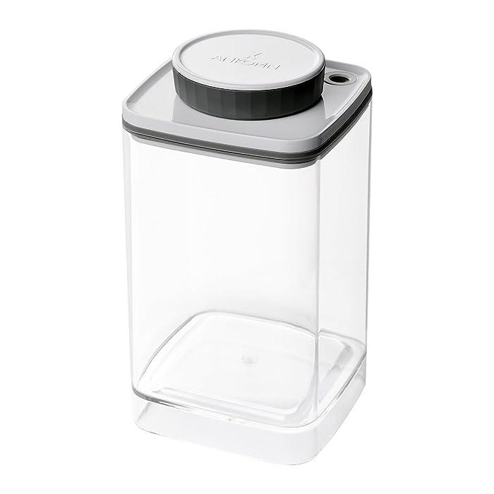 Ankomn Turn-N-Seal vacuum/airtight moisture prevent storage container perfect for Coffee Teas Rice Nuts Medicine (1.2quart)