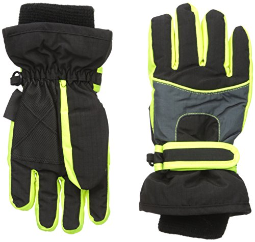 The Children's Place Boys' 3-In-1 Glove,Black,Large/X-Lar...