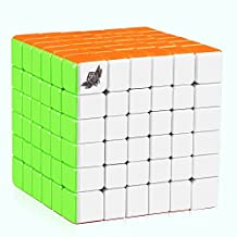 D-FantiX Cyclone Boys 6x6 Speed Cube Stickerless Magic Cube Puzzles 67mm (G6 Version)