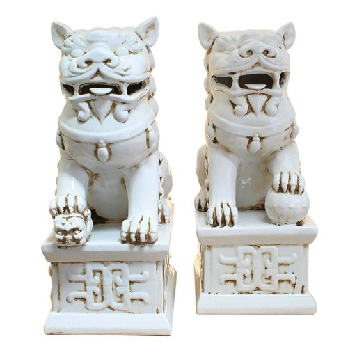 (TIC Collection 24-618 Fu Dogs PR Statues)