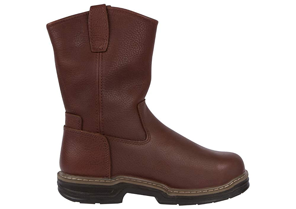 Wolverine Mens Gallatin 10 Steel Toe Boots Leather