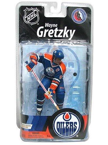 McFarlane NHL Series 27 Wayne Gretzky Blue Jersey Figure - Edmonton Oilers