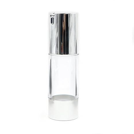 Botella vacía cosmética sin aire bomba de plástico tratamiento de viaje de 15 ml 30 ml