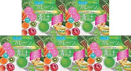 【5個セット】乳酸菌入り フルーツ青汁 45包 B07563NDFW