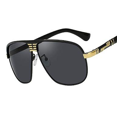 Gafas de sol polarizadas Gafas de sol Lente negra Gafas de ...